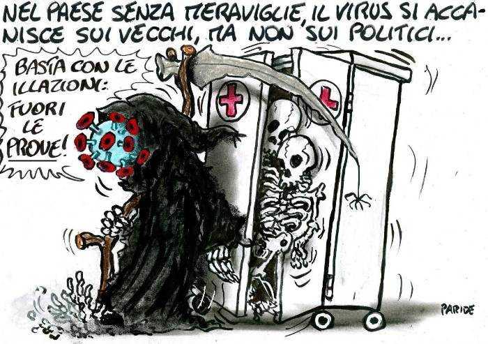 Virus, le meraviglie di un Paese senza meraviglie