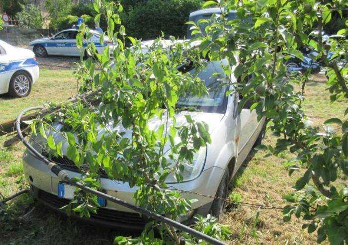 Castelnuovo Rangone: non si ferma all'alt e fugge, bloccato da PM