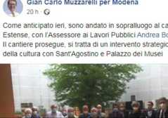 Sindaco al cantiere dell'ex ospedale ..