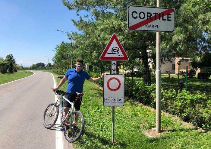 'Bonus bici? Nelle frazioni di Carpi è addirittura vietata la bici'