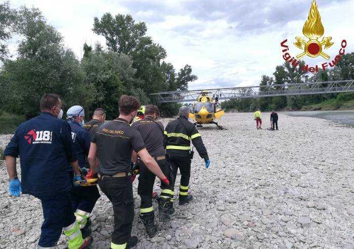 San Donnino, ferita durante escursione: intervengono vigili del fuoco