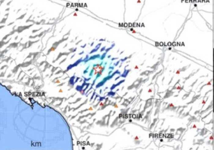 Frassinoro, scossa di terremoto di magnitudo 3.1