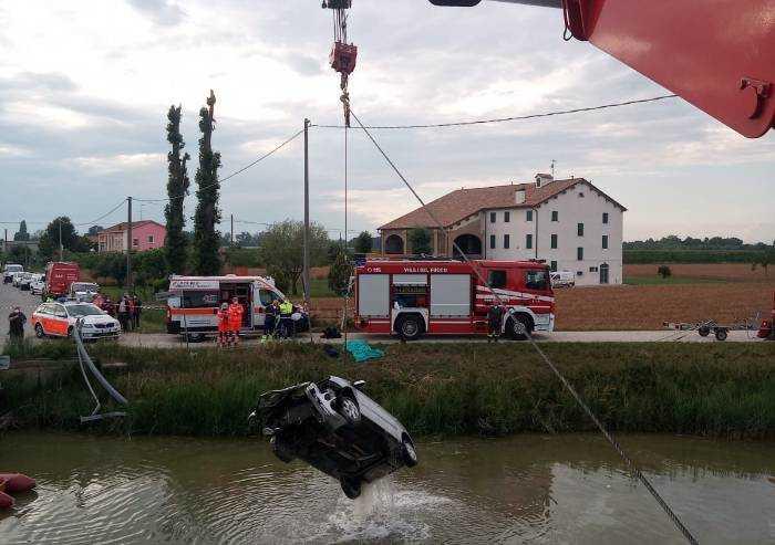 Ottantenne di San Felice esce di strada e muore nel canale