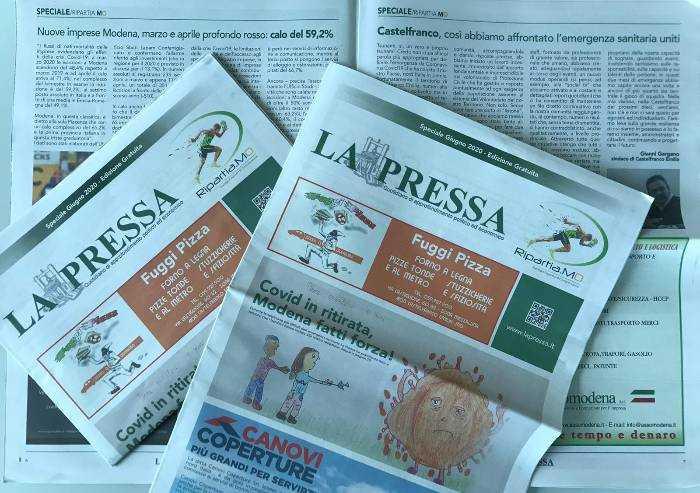 Torna La Pressa di carta: speciale gratuito dedicato alla ripartenza