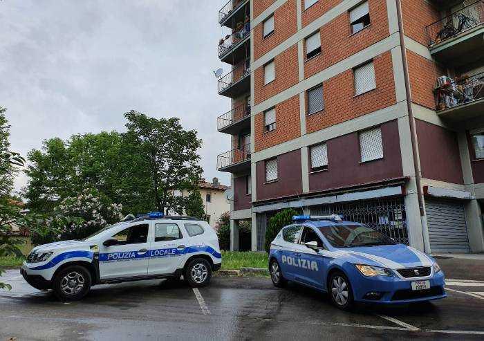 Sequestro di droga nell'alloggio richiedenti asilo in viale Amendola
