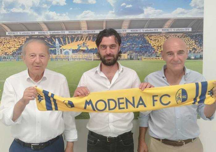 Ecco Luca Matteassi, nuovo Direttore Sportivo del Modena calcio