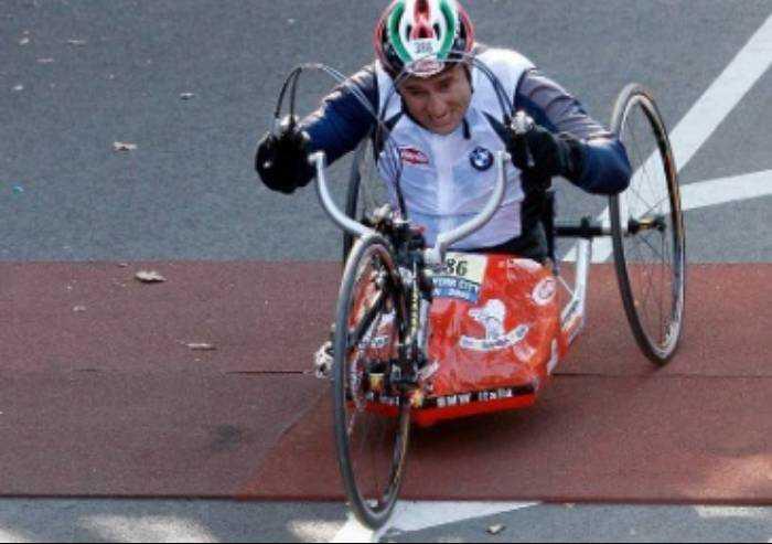 Zanardi travolto sulla sua hand-bike: gravissimo