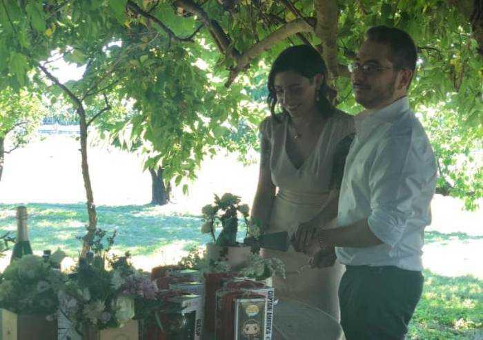 Fiori d'arancio, Giulia Volpe si è sposata con Manuel