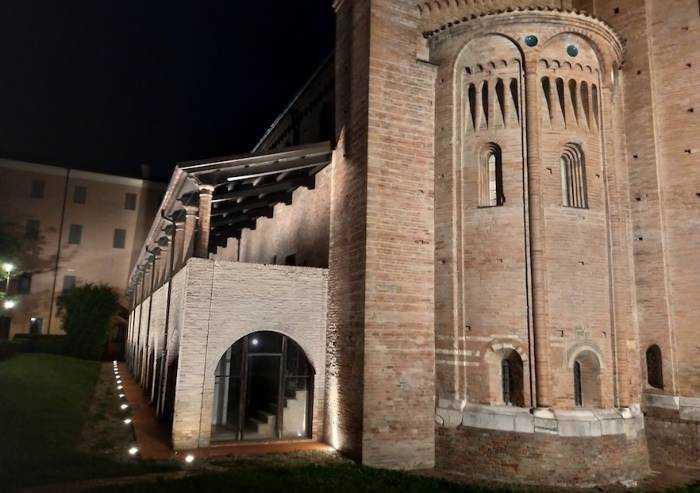 Nonantola, per due martedì l'abbazia risplende con suoi musei