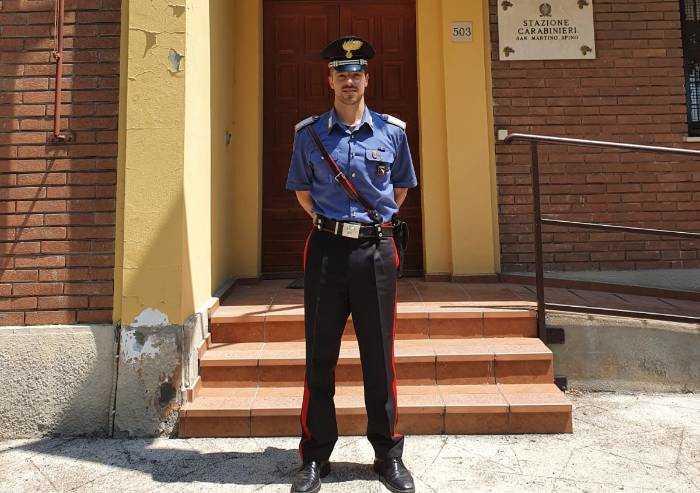 San Martino Spino: il maresciallo Solido al comando della stazione CC