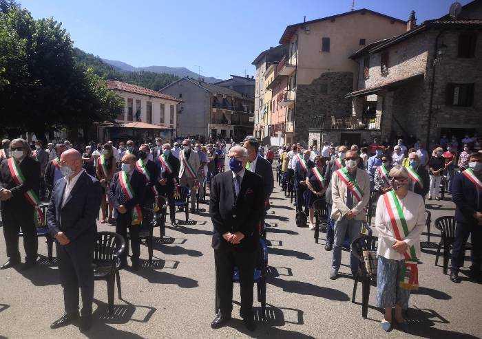 Piacenza 3° provincia italiana per morti Covid: Bonaccini a Ferriere