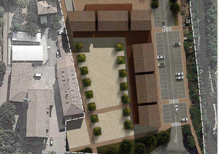 Magreta di Formigine: al via le demolizioni per la piazza del futuro