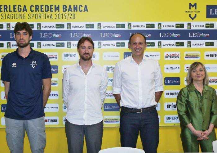 Luca Vettori è di nuovo a Modena..Volley: 'Saremo un grande gruppo'