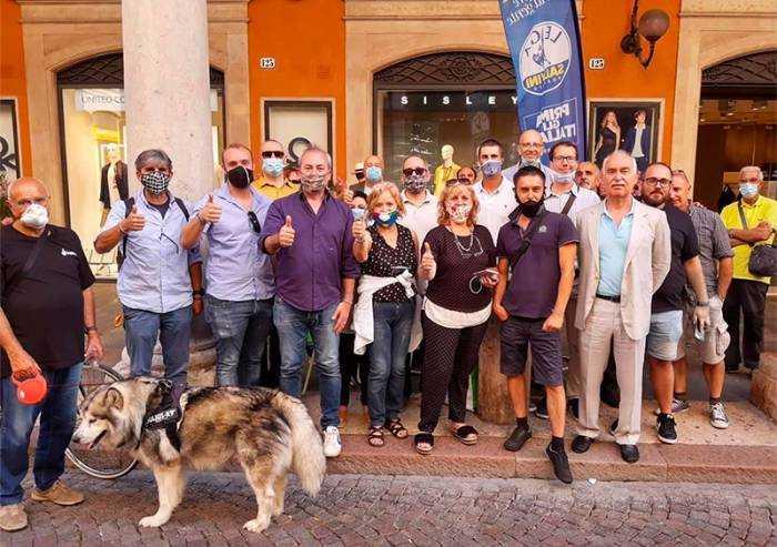 Banchetti Lega, a Modena raccolte 3500 firme in due giorni