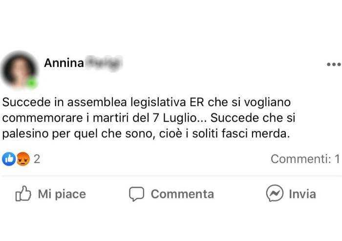 Bagarre in Aula, dipendente Regione a leghisti: 'Soliti fasci di m...'