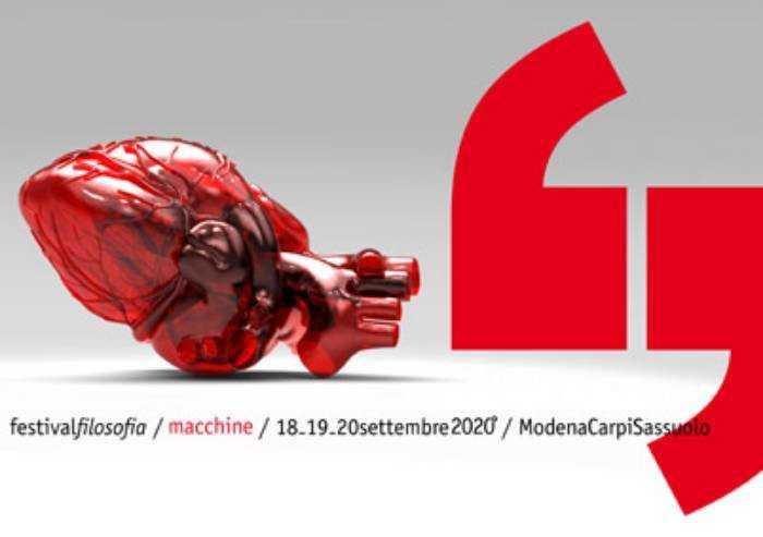 Confermato il festival filosofia: 100 appuntamenti sul tema 'macchine'