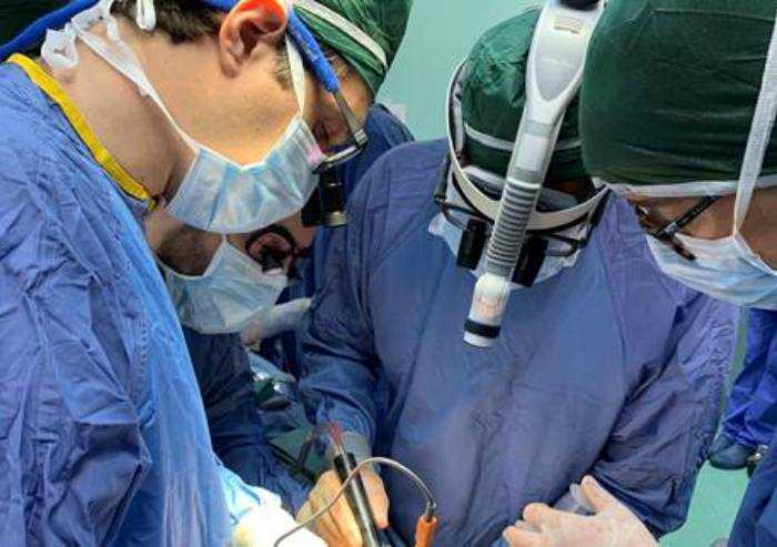 Primo trapianto di fegato per metastasi epatiche a Modena