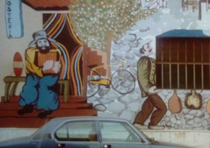 Murales Villa d'Oro: storia della più grande pittura murale a Modena