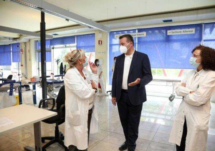 Covid, al via test gratuiti sui donatori di sangue in Emilia Romagna