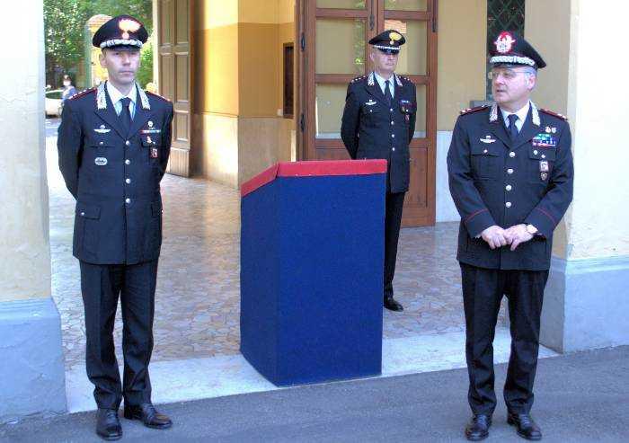 Carabinieri Modena: la visita del comandante legione E-R Angrisani