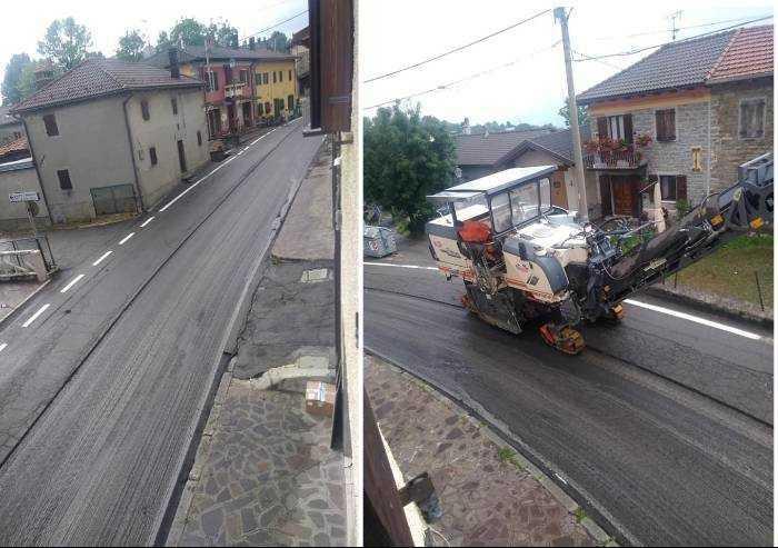 Frassinoro, prima strisce poi asfalto? La Provincia: 'Solo 120 euro'