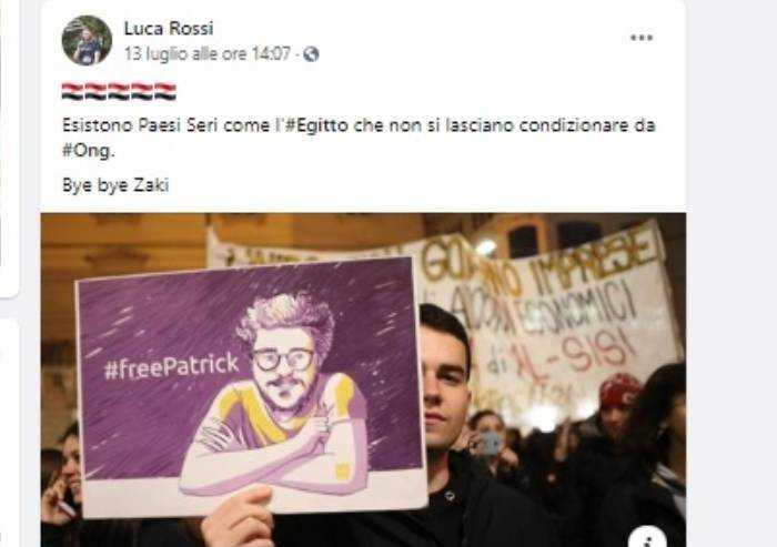Modena, componente segreteria Lega: 'Bye bye Zaki'