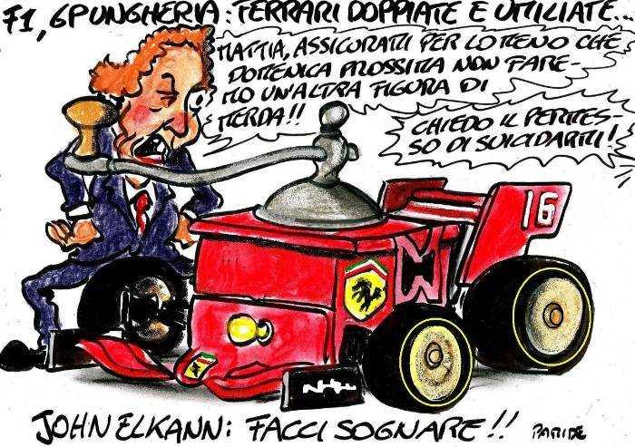 Ferrari doppiate e umiliate