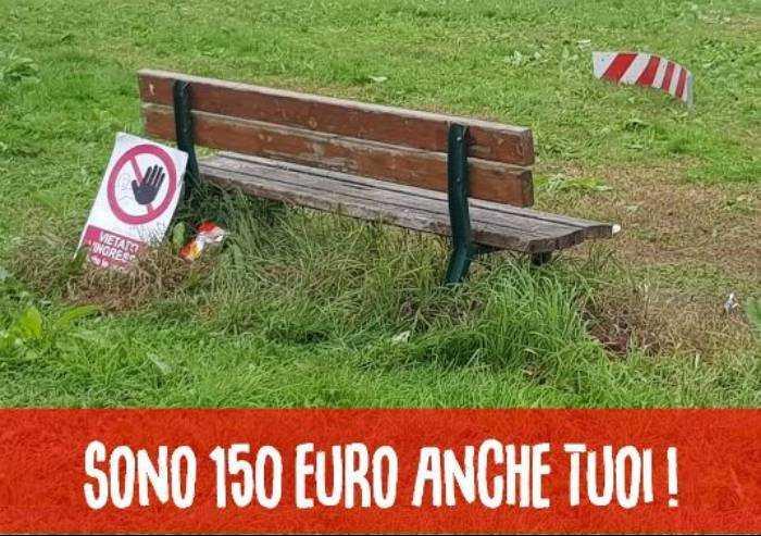 Bomporto, campagna contro i vandali: 'Non rovinare cose anche tue'