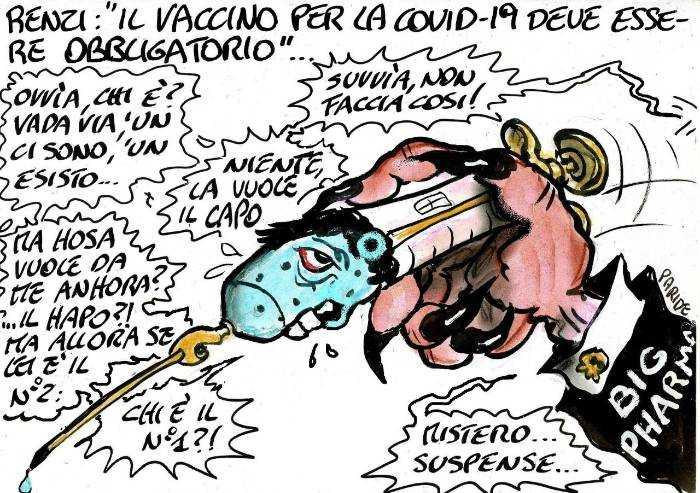 Renzi e il vaccino obbligatorio