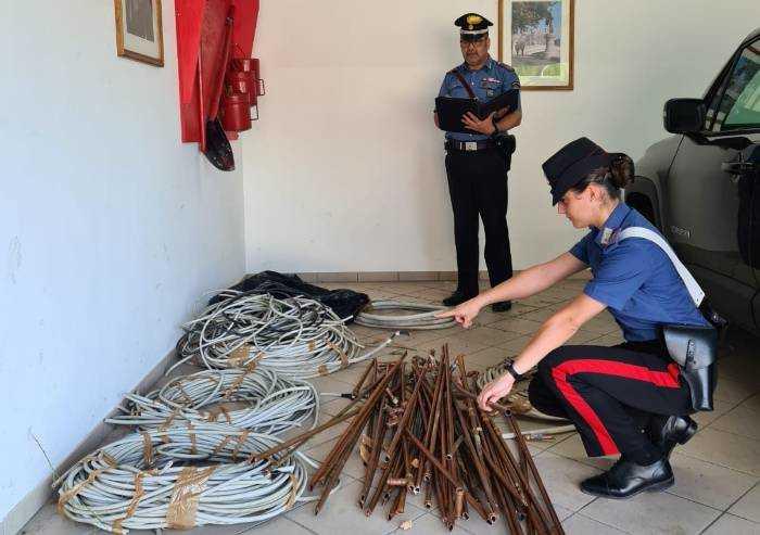 Arrestato ma già libero di rubare, nuovamente bloccato dai Carabinieri