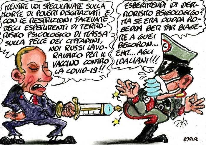 Gli esperimenti italiani e il vaccino di Putin