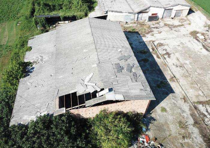 A San Cesario un mare di cemento-amianto: denuncia ONA