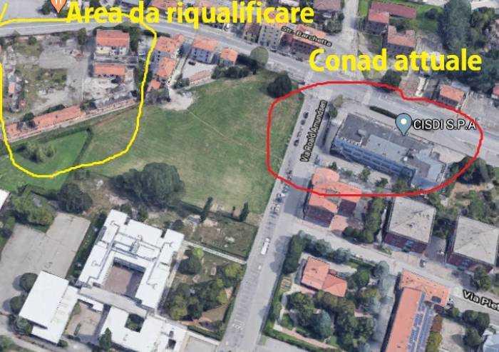 Madonnina: area sbloccata il Conad di via Amundsen avrà una nuova sede