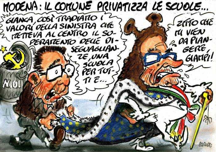 Scuole privatizzate: addio alla Modena di sinistra
