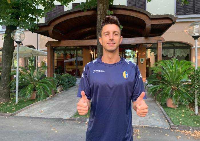 Modena calcio, arriva da Salerno Luca Castiglia