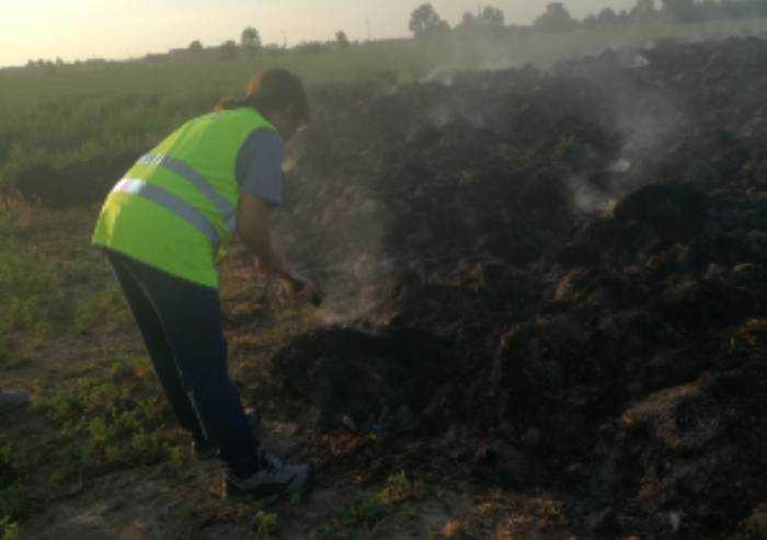 Fumi incendio azienda Hombre, Arpa conferma: inquinanti sotto i limiti
