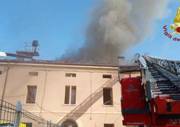 San Felice S.P: incendio in abitazione: nessun ferito