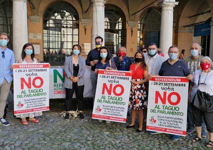 Modena, Comitato del No al referendum: 'Così si taglia rappresentanza'