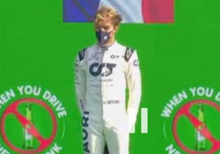 Gp Monza, vittoria italiana a sorpresa con Gasly su Alpha Tauri