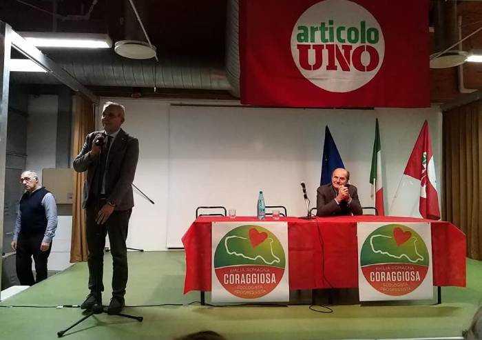 Referendum riduzione dei parlamentari: Articolo Uno Modena dice No