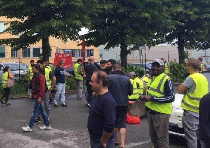 Centrale Adriatica chiude per 2 anni magazzino di Anzola. E' sciopero