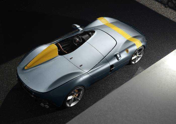 Ferrari: la Monza SP1 si aggiudica il Compasso d'Oro 2020