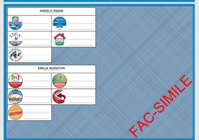 Elezioni a Vignola e Montese: ecco le schede
