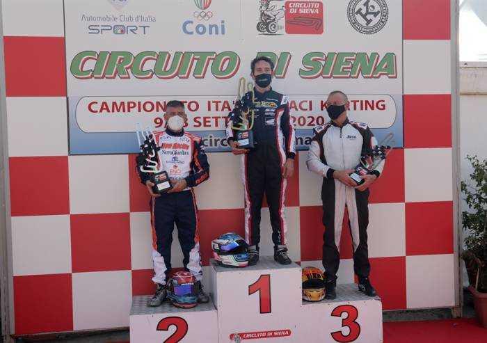 Karting, il modenese Andrea Spagni sorprende tutti in KZN Over