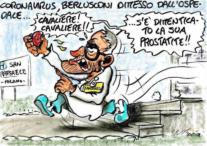 Coronavirus, una dimenticanza per Silvio