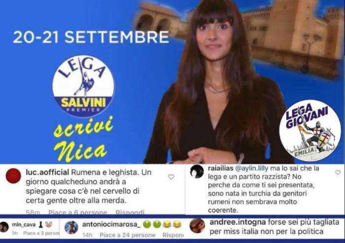 Vignola, insulti sessisti a candidata Lega, Romani: Ecco i democratici