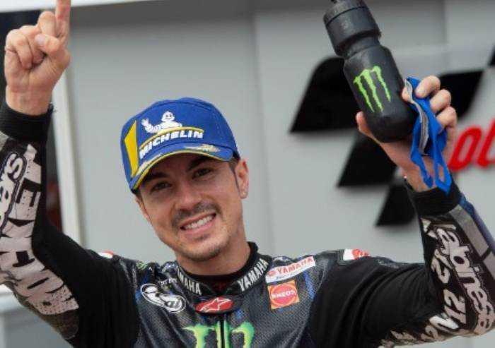 Moto GP Emilia-Romagna: Vince Vinales, cadono Bagnaia a Rossi