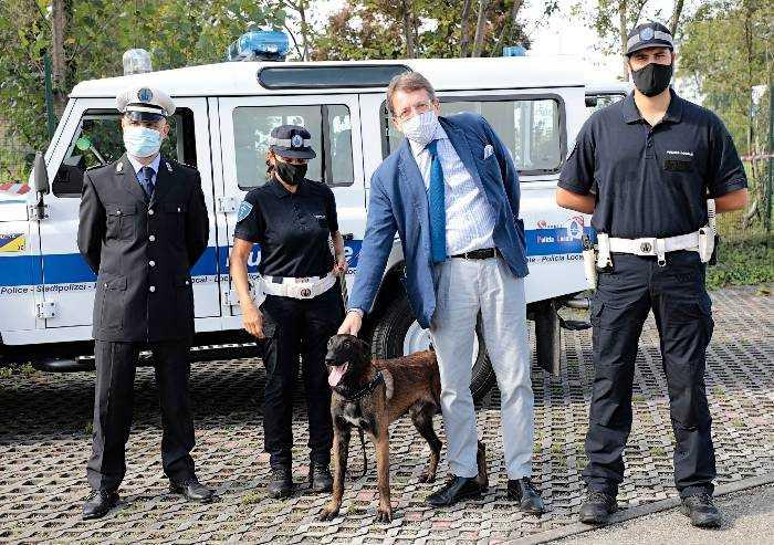 Polizia municipale Modena, è arrivato il cane Pit