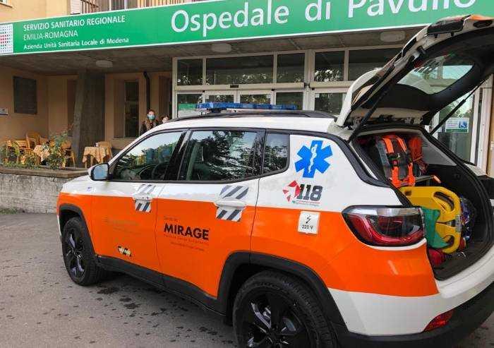 Pavullo, nuova automedica donata da azienda privata in servizio