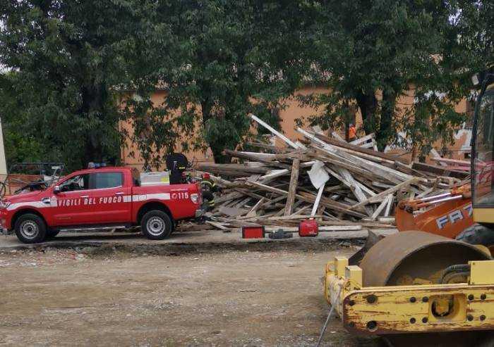 Castelfranco, edificio da demolire abitato da animali selvatici: salvi
